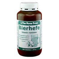 BIERHEFE 500 mg Vitamin Tabletten