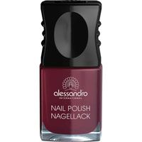 ALESSANDRO Nagellack 54 midnight red