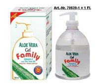 aloe vera gel 99 9 vit e teebaum l 500ml bodfeld apotheke. Black Bedroom Furniture Sets. Home Design Ideas