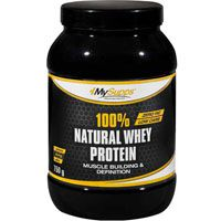 100% NATURAL Whey Protein Pulver