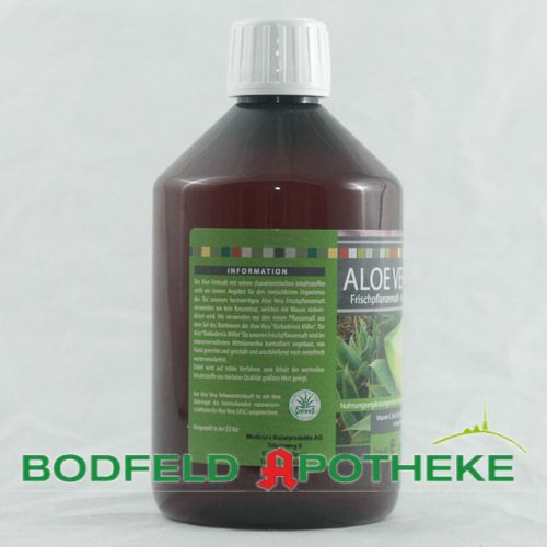aloe vera saft 500ml bodfeld apotheke. Black Bedroom Furniture Sets. Home Design Ideas