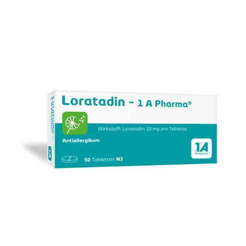 LORATADIN-1A Pharma Tabletten