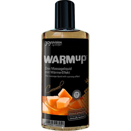 WARMUP Karamell Massageliquid