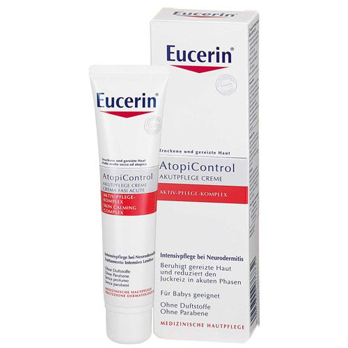 eucerin atopicontrol akut creme 40 ml 08454781 ebay. Black Bedroom Furniture Sets. Home Design Ideas