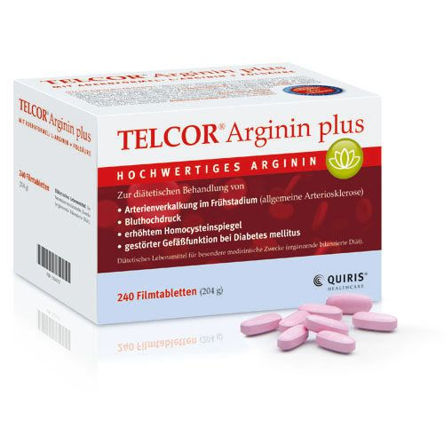 telcor arginin plus filmtabletten 240st ck. Black Bedroom Furniture Sets. Home Design Ideas
