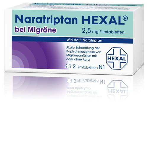 naratriptan hexal bei migr ne 2 5 mg filmtabletten 2st bodfeld apotheke. Black Bedroom Furniture Sets. Home Design Ideas