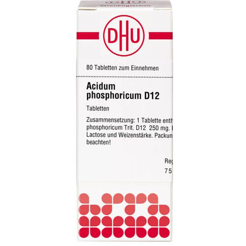 ACIDUM PHOSPHORICUM D 12 Tabletten