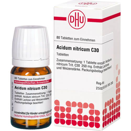 ACIDUM NITRICUM C 30 Tabletten