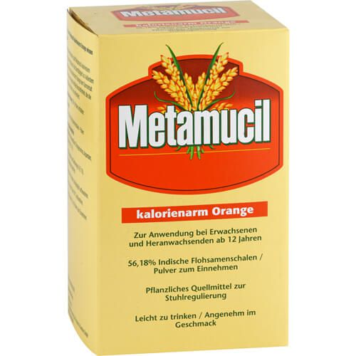 METAMUCIL Orange kalorienarm Pulver
